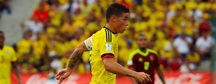 Colombia sin James