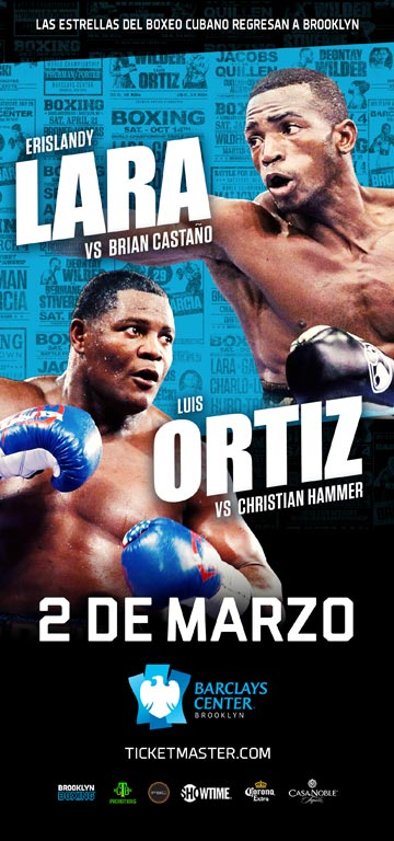 Boxing at Barclays Center Marzo 2