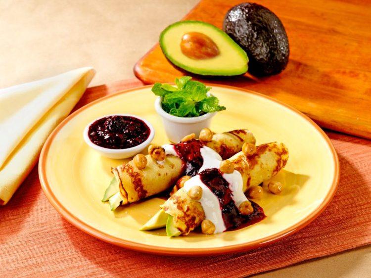 Good Morning! Cràpes with Avocado