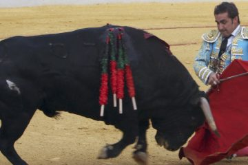 """GRA320. ALMAGRO. 25/08/2016.- El diestro David Fandila """"El Fandi"""" durante la faena a su primer toro en el tradicional festejo taurino del 25 de agosto en Almagro. EFE/Mariano Cieza Moreno"""