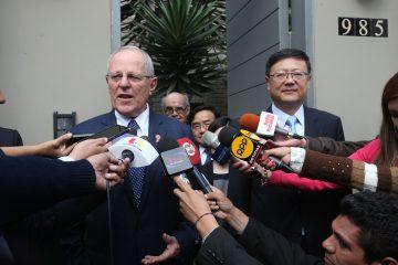 Kuczynski pasará por la capital, Pekín, y por la urbe de Shanghái, en un viaje que se produce cuando ambos países celebran 45 años de relaciones diplomáticas y comerciales. (EFE)