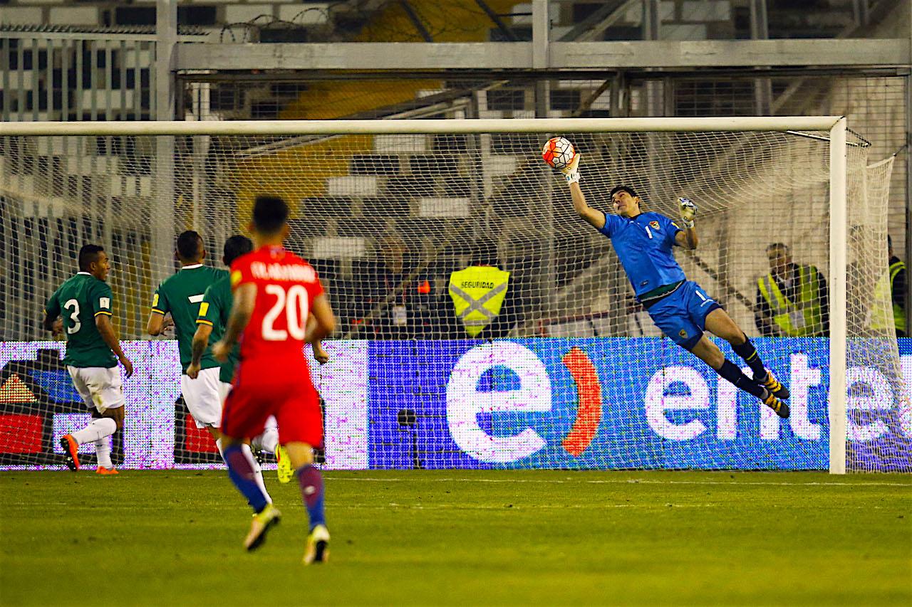 Chile1-1 Chile decepciona y empata ante una ordenada Bolivia