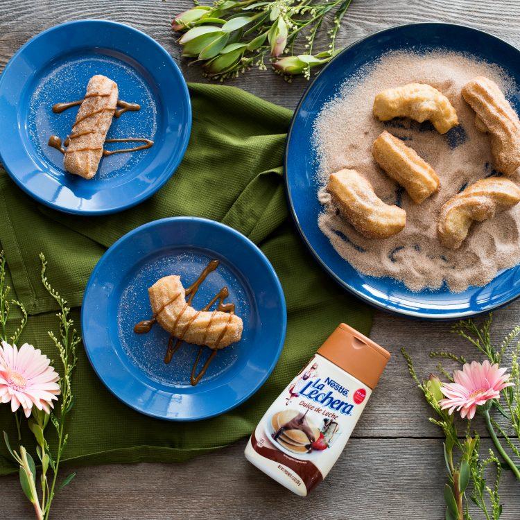 Deliciosos y suavecitos, así te quedarán los churros si sigues al pie de la letra nuestros consejos. (Cortesía)