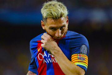 El delantero argentino del FC Lionel Andrés Messi durante el partido de la primera jornada de la Liga de Campeones en el Camp Nou de Barcelona. EFE/Alejandro García