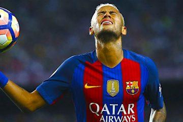 - El delantero brasileño del F. C. Barcelona, Neymar, durante el encuentro correspondiente a la quinta jornada de primera división, que se disputo frente al Atlético de Madrid en el estadio del Camp Nou, en Barcelona. EFE / Alejandro García.