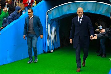 Zinedine Zidane, técnico del Real Madrid. Foto EFE
