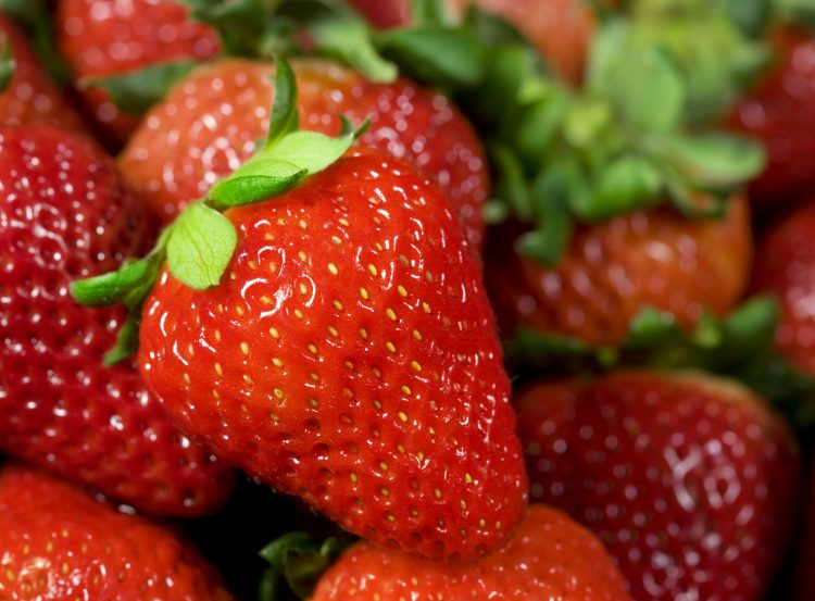 Un lote de fresas congeladas es el causante del contagio de hepatitis A.