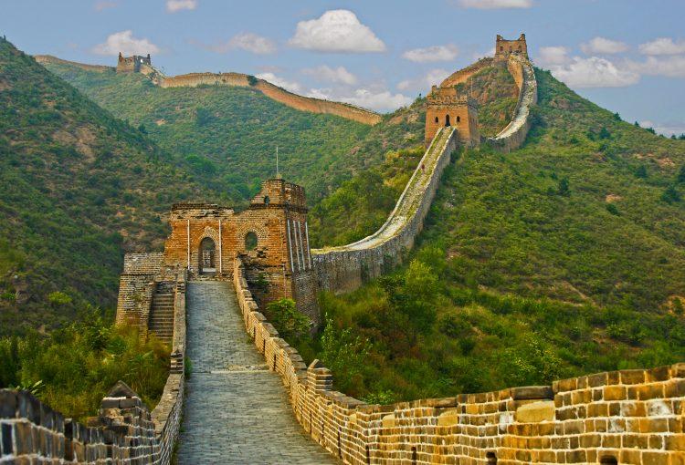 Detalle de la Gran Muralla China