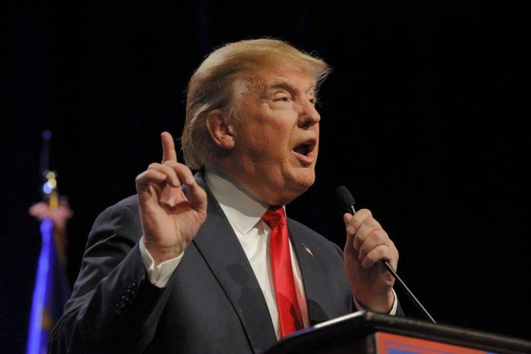 El candidato presidencial dijo que México pagará por el muro de la frontera.