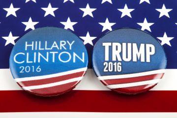 Los sondeos para el conjunto de la nación muestran que a 60 días de las elecciones no se vislumbra quién de los dos será el que llegue a la Casa Blanca y que la imagen de Clinton y de Trump es más negativa que positiva. (Dreamstime)