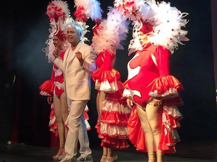 el regreso televisivo como invitado especial del famoso actor, presentador y comediante Alexis Valdés a su casa MegaTV (SBS)