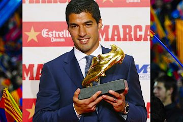 Suárez máximo goleador