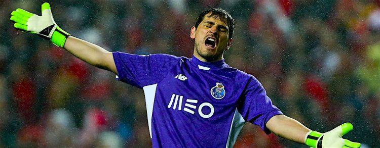 El guardameta español del Oporto, Iker Casillas/ EFE
