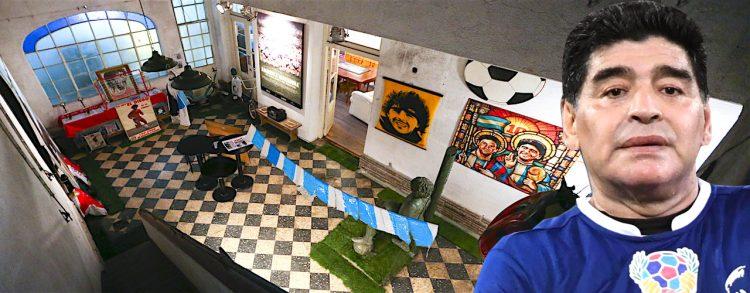 Conoce la antigua casa de Maradona hace 40 años