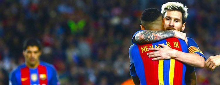 Neymar y el Barcelona