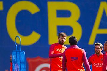 Piqué y el Barcelona