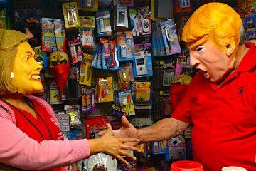 Trump, garantía de éxito en Halloween