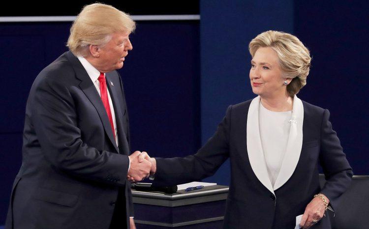 La demócrata Hillary Clinton y el republicano Donald Trump abordaron este domingo en San Luis (Misuri) el segundo de los tres debates en los que se medirán antes de la cita con las urnas del 8 de noviembre para elegir al próximo presidente estadounidense. (Dreamstime)