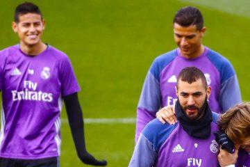 Benzema listo para dar batalla en el derbi contra el Atlético