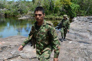 El jefe del equipo negociador del Gobierno colombiano, Humberto de la Calle, informó hoy que dos guerrilleros de las FARC murieron en combates en el sur del departamento caribeño de Bolívar, solo cuatro días después de que las dos partes firmaran un nuevo acuerdo de paz. (Dreamstime)