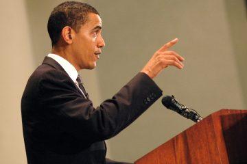 """Durante su última rueda de prensa del año desde la Casa Blanca, Obama aconsejó también a Trump sobre la importancia de que haya una buena relación bilateral entre EEUU y China, dado """"lo mucho que hay en juego"""". (Dreamstime)"""