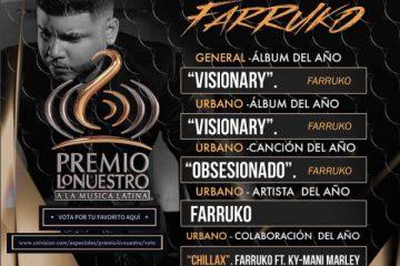 """Farruko ha dominado el género en el 2016 comenzando el año con una gira de conciertos en Europa, el """"VISIONARY WORLD TOUR, (Acoustyle Communication)"""