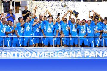 Honduras se corona campeón de Centroamérica