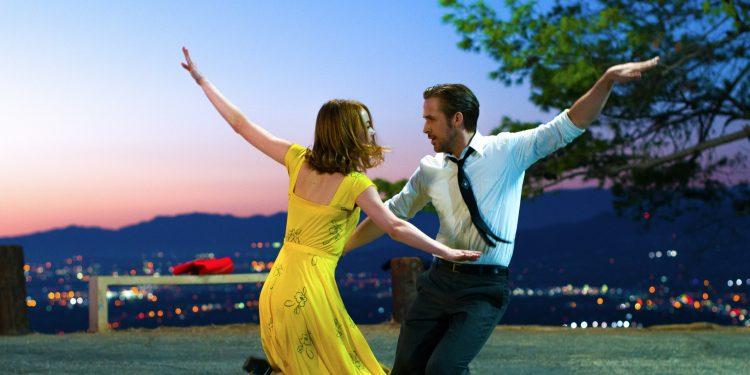 """""""Esta película es para los soñadores"""", indicó Stone tras hacerse con el primer Globo de Oro de su carrera."""
