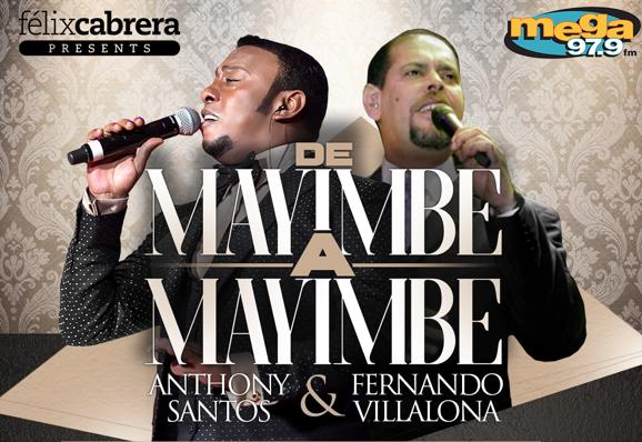 Los conciertos se llevarán a cabo el próximo 3 y 4 de Febrero en el United Palace de Nueva York (La Mega 97.9  & Felix Cabrera Presents)