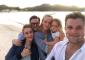 Thruman y Busson fueron pareja durante varios años, entre 2007 y 2014, tiempo en el que nació su hija Luna, y aunque llegaron a estar comprometidos en dos ocasiones, al final nunca se casaron, (Instagram)