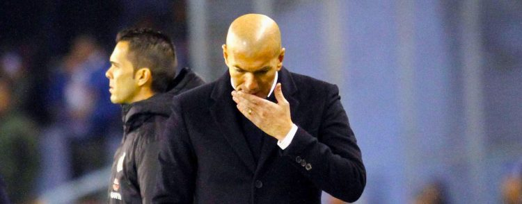 Zidane pierde su primera eliminatoria