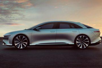 Lucid Motors, la automotriz de vehículos eléctricos con sede en California, está tomando nota para los compradores preocupados de que el Lucid Air será un modelo de paso, y está ofreciendo un plan de compra sin riesgo. (Lucid Motors)