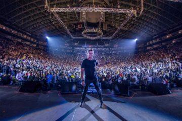 La misma emoción se sintió en Monterrey y Guadalajara, donde además cantó rancheras y junto al publicó cantaron el cumpleaños a Daddy Yankee y a su mamá Aracely Restrepo (Paola España Press)
