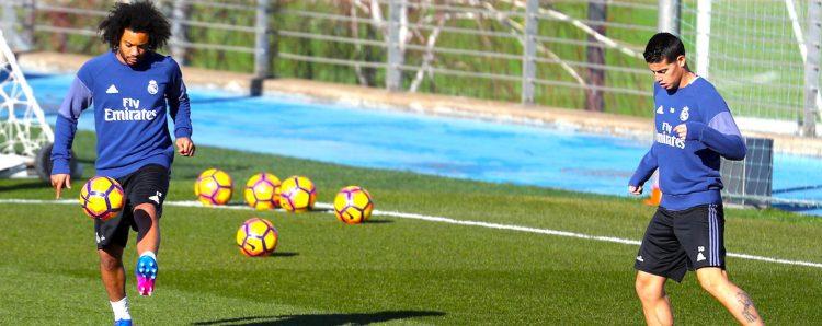 El Madrid recupera a Luka Modric y Marcelo