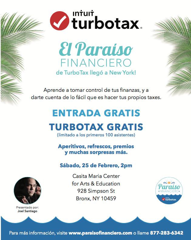 Screen-Shot-2017-02-21-at-10.18.04-AM TurboTax ofrece seminario financiero en el Bronx