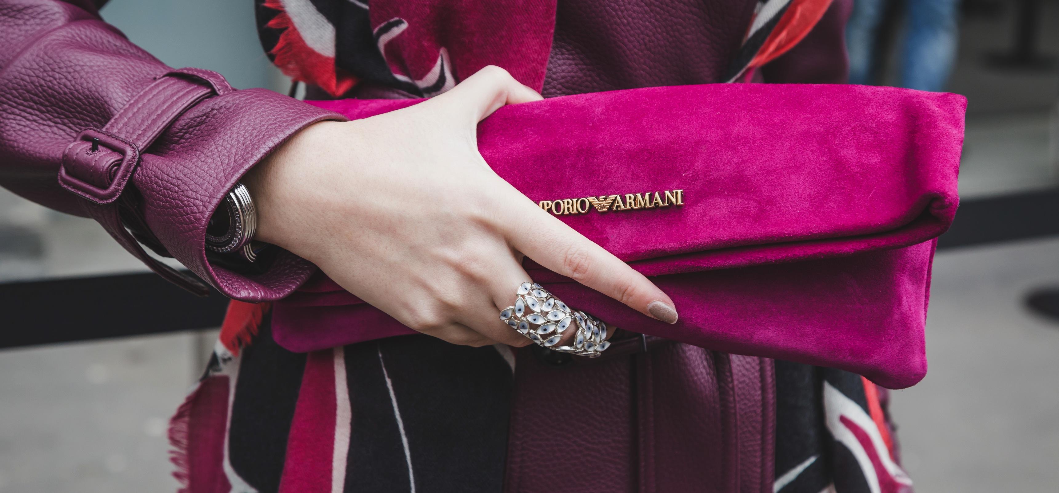 dreamstime_xl_50869245 El rosa de Emporio Armani y la elegancia de Versace deslumbran en Milán