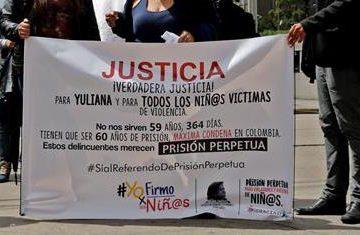 El asesinato de Samboní conmocionó a Colombia por la sevicia con la que actuó el asesino, quien la raptó el domingo 4 de diciembre de 2016 en Bosque Calderón, una barriada colindante a Chapinero Alto, un barrio de clase acomodada de Bogotá. (EFFE)