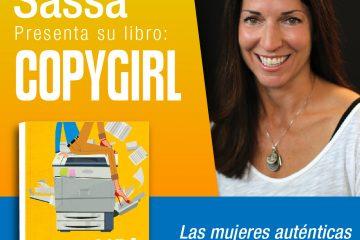 Michelle Sassa, autora del libro best seller del verano, CopyGirl.