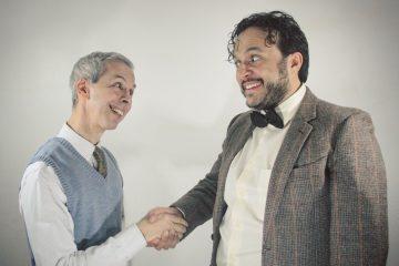 La comedia, dirigida por el también peruano Diego Chiri, cuenta con las actuaciones del venezolano Javier Figuera y el uruguayo Claudio Weisz. (Fotos cortesía Corezon)