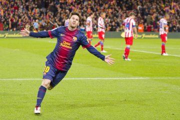 En los 370 partidos que lleva disputados, Leo Messi ha marcado 335 goles. (Dreamstime)