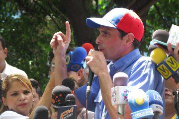 """El gobernador opositor venezolano Henrique Capriles advirtió hoy que en su país se ha dado el """"Madurazo"""".  (Dreamstime)"""