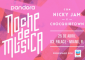 "El prominente cantante de música urbana, Nicky Jam, llega al escenario de ""Noche de Música"" de Pandora, luego de finalizar su gira europea"