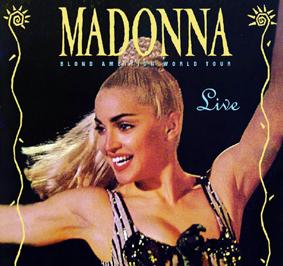 """Madonna en su controvertida gira """"Blond Ambition"""", que llegará a la televisión el 6 de abril, dará al público la oportunidad de conocer qué pasó con aquellos jóvenes, dos de ellos latinos (Pinterest)"""