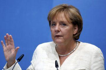 """La jefa del Gobierno alemán se mostró convencida de que los escollos con que topan ahora las relaciones comerciales bilaterales se """"podrían subsanar"""" con un acuerdo de libre comercio. (Dreamstime)"""