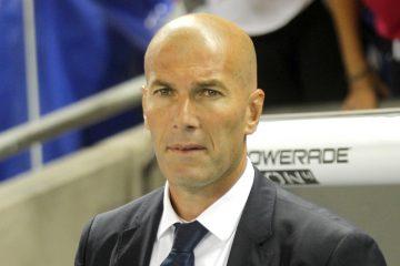 Mirando a su Real Madrid, Zidane admitió que no lo ve peor que hace un año y aseguró que la presencia en su séptima semifinal de Liga de Campeones consecutiva lo muestra. Las sensaciones que expresó tras el partido del sábado ante el Valencia, las rebajó en la víspera del derbi madrileño. (Dreamstime)