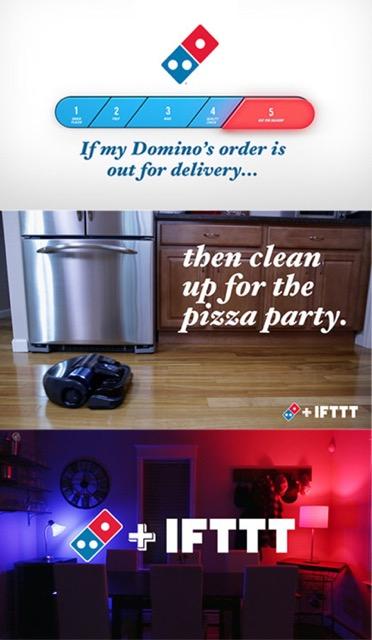 ifttt Domino's se une a IFTTT para brindarte un mejor servicio