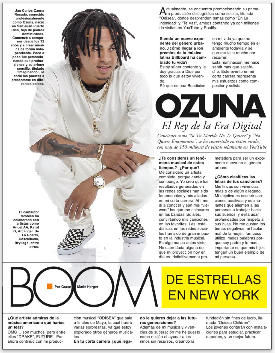 ozuna OZUNA, Un Fenómeno de la Era Digital