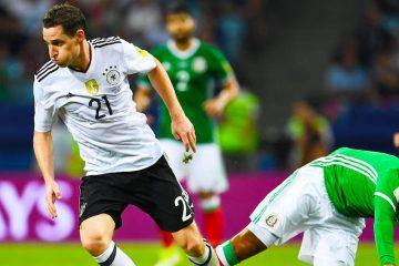 La poderosa Alemania se impone ante México por 4-1