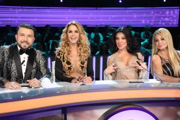 """""""La Reina de la Canción"""" se inició en abril, con 40 mujeres compitiendo por el primer puesto, bajo la dirección de la conductora Alejandra Espinoza y la jueza principal, la cantante y actriz Lucero (Univision)"""
