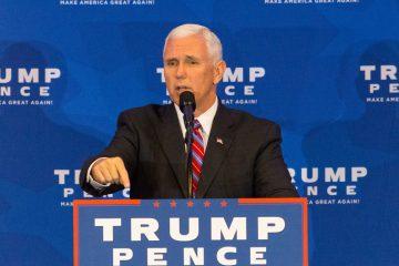 """El vicepresidente de EE.UU. Mike Pence dijo hoy en Miami que el presidente Donald Trump escucha a los cubanos y está de su lado y que """"no está del lado de los tiranos"""". (Dreamstime)"""